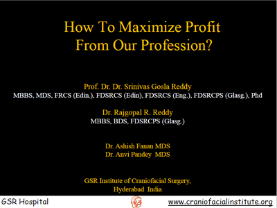 How to maximize profit from our profession